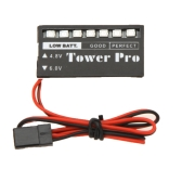 Tower Pro RC Model 4.8V-6V 7 LED Receiver Battery Voltage Indicator Monitor Car