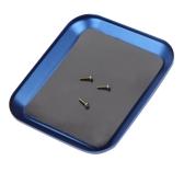 新しい アルミ ネジ トレイ 磁気あり RCモデル 携帯電話の修理用【並行輸入品】
