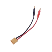 15cm XT60 4,0 wtyk bananowy Saldo Charge Cable dla RC Helicopter Quadcopter XT60 Lipo Battery Charge (plug XT60 Charge Cable, Bilans Absolutorium kabla, Lipo ładowania baterii linia)
