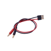 GoolRC 4.0mm Banana Plug to TRX Male Connector Adaptor Cable 35cm Long for Lipo Battery Balance Charging(Balance Charge Cable,Lipo Battery TRX Male Charging)