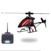 Helicóptero Walkera Maestro CP Flybarless 6-Axis Gyro 6CH RC w / DEVO 7 Transmisor