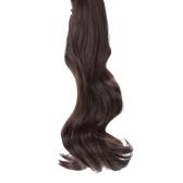 Quijada Clip largo ondulado Cola cola de caballo peluca peluca pelo extensión