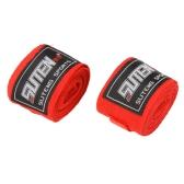SUTEN vendaje Wraps mano soporte de muñecas Deportes Correa para boxeo Sanda Muay Thai MMA Taekwondo Longitud 2.5M Ancho 5cm 100% Algodón 2pcs / rollo