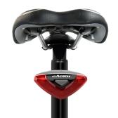 Велоспорт велосипед велосипедов супер яркий красный 5 Светодиодные задние хвост света 4 режимы лампа для подседельный непромокаемый