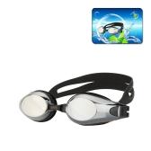 Moda Unisex acqua Sportswear antinebbia UV Shield protezione impermeabile occhiali Occhiali Occhiali nuoto con tappi per le orecchie