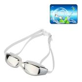 Moda Unisex acqua Sportswear antinebbia UV Shield protezione impermeabile occhiali Occhiali Occhiali nuoto con orecchio spine Dual Head cinghie