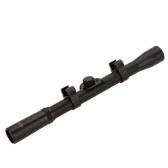 4 x 20 戦術的な狩猟視力範囲ライフル銃望遠照準 .22caliber ライフル、Airsoft 銃のため