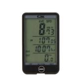 Cablata bici bicicletta ciclismo Computer contachilometri tachimetro Touch pulsante retroilluminazione LCD retroilluminato impermeabile multifunzione