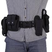 Lixada Тактические полицейские охранник оборудование обязанность Утилита Kit пояс с Чехлы системы кобура открытый подготовки черный