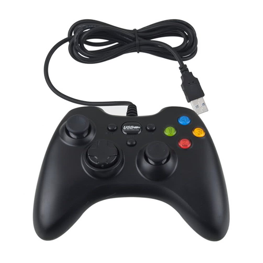 how to connect a wired controller to pc