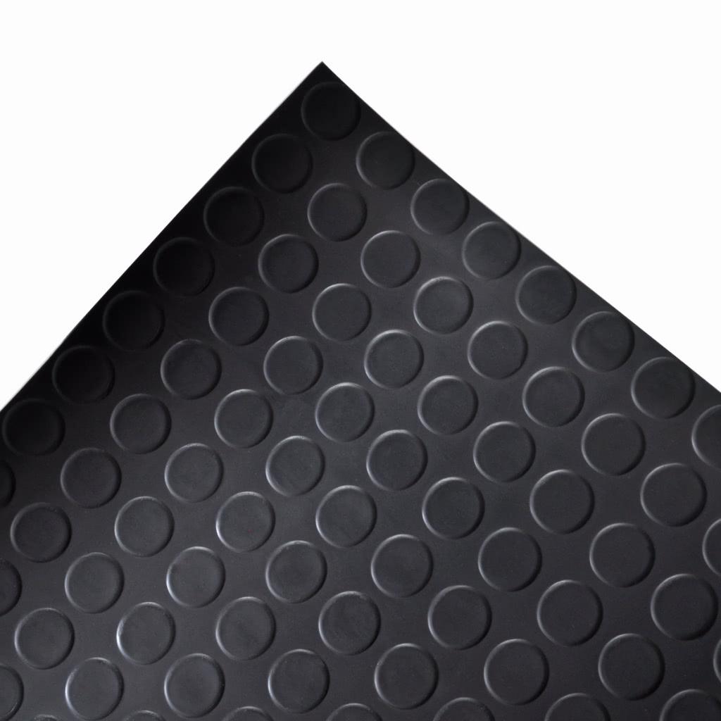 Estera con puntos antideslizante de caucho del suelo 5 x 1 - Suelo de caucho ...