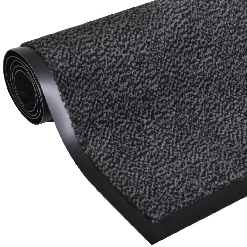 fu matte fu abtreter rutschfest 180 x 120 cm anthrazit sales online tomtop. Black Bedroom Furniture Sets. Home Design Ideas