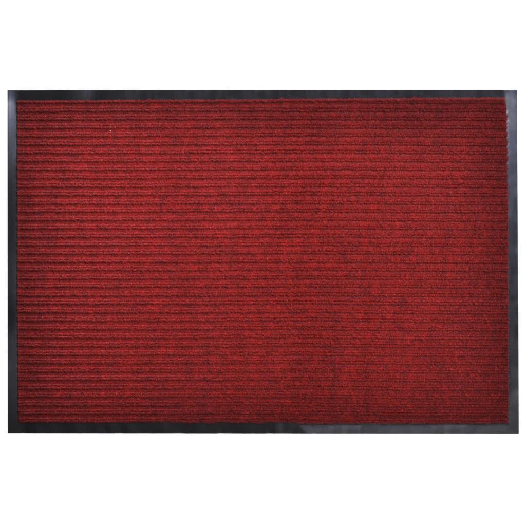 pvc rouge tapis de porte 90 x 120 cm. Black Bedroom Furniture Sets. Home Design Ideas