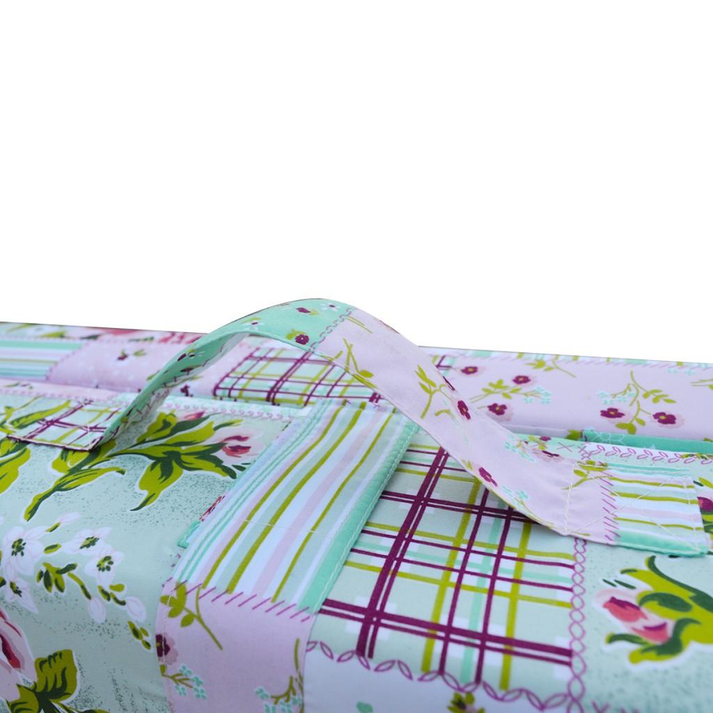 matelas pliable pour enfants motif de fleurs marron. Black Bedroom Furniture Sets. Home Design Ideas
