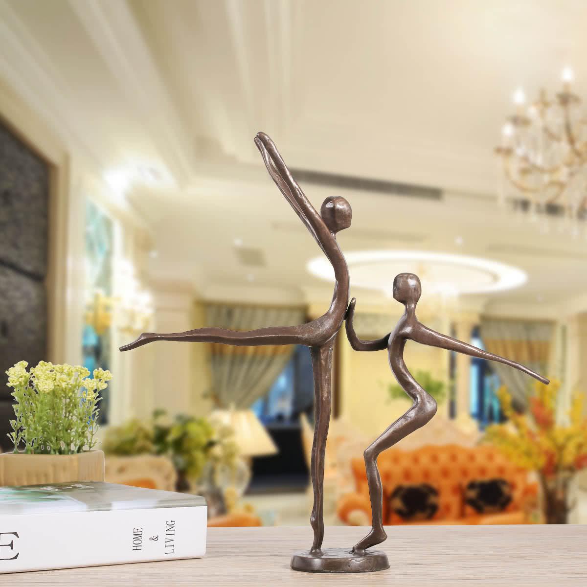Danza doble 1 danza moderna escultura del bronce escultura - Esculturas decoracion ...