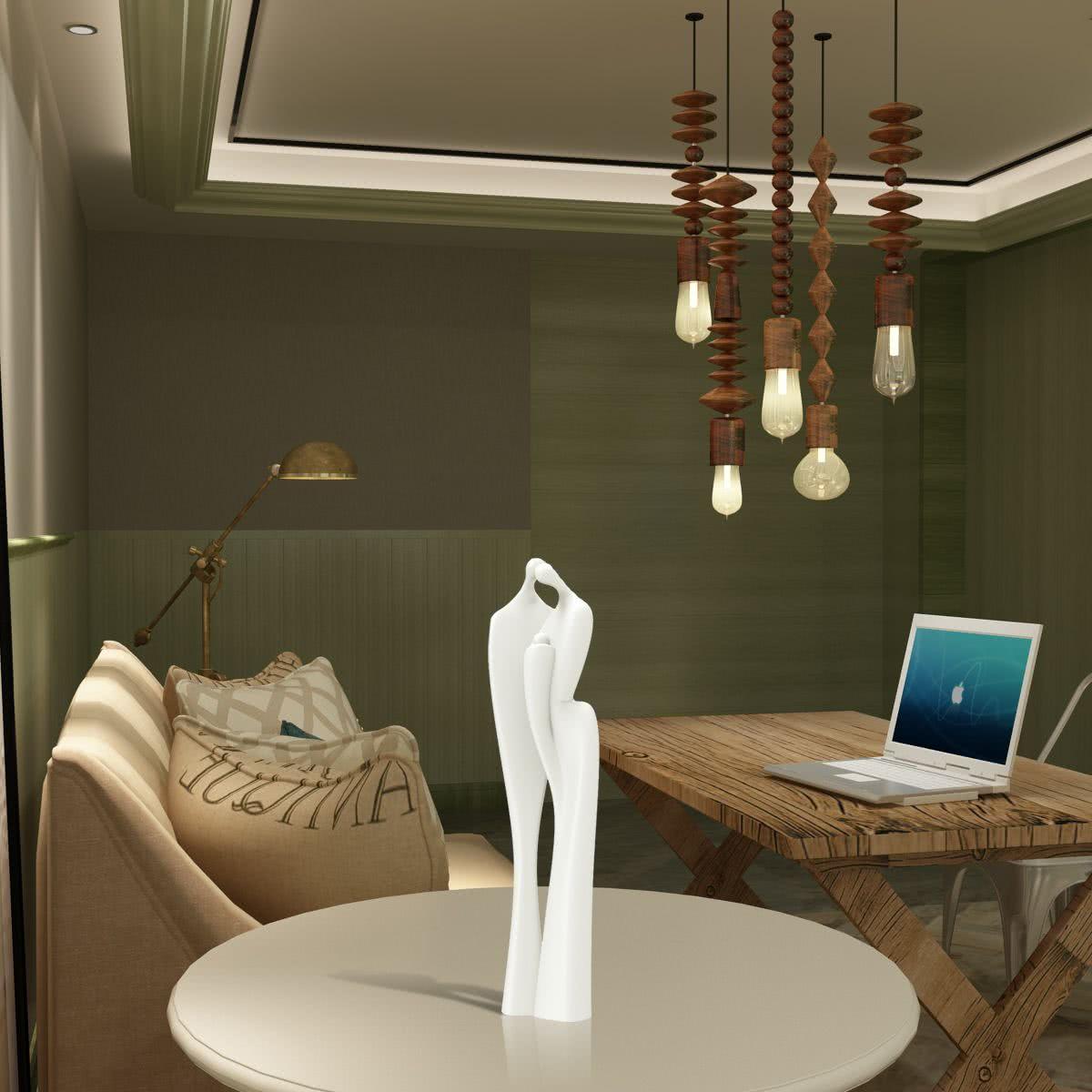 Reci n nacido la mano sostiene la escultura 3d tomfeel for Decoracion hogar 3d