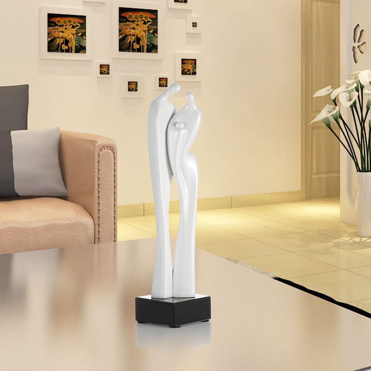 Sculpture tomfeel lovers r sine de fibre de verre ornement for Sculpture design interieur