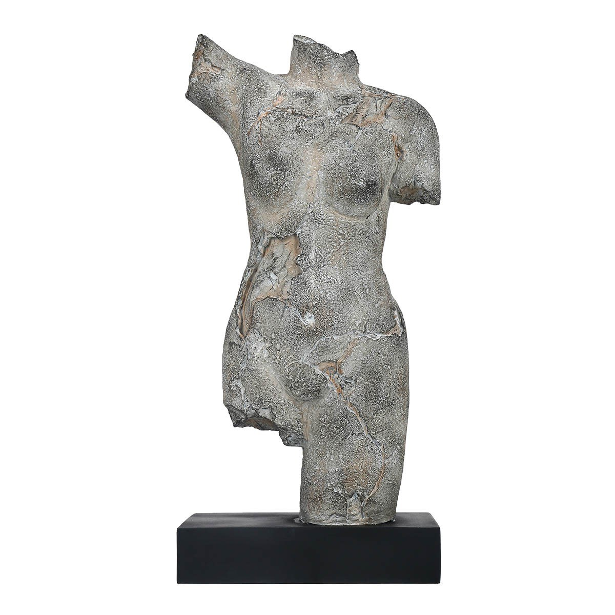 Resin Body Sculpture Black