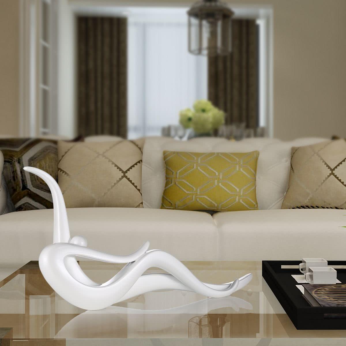 Detr s movimiento tomfeel fibra de vidrio escultura - Decoracion hogar original ...