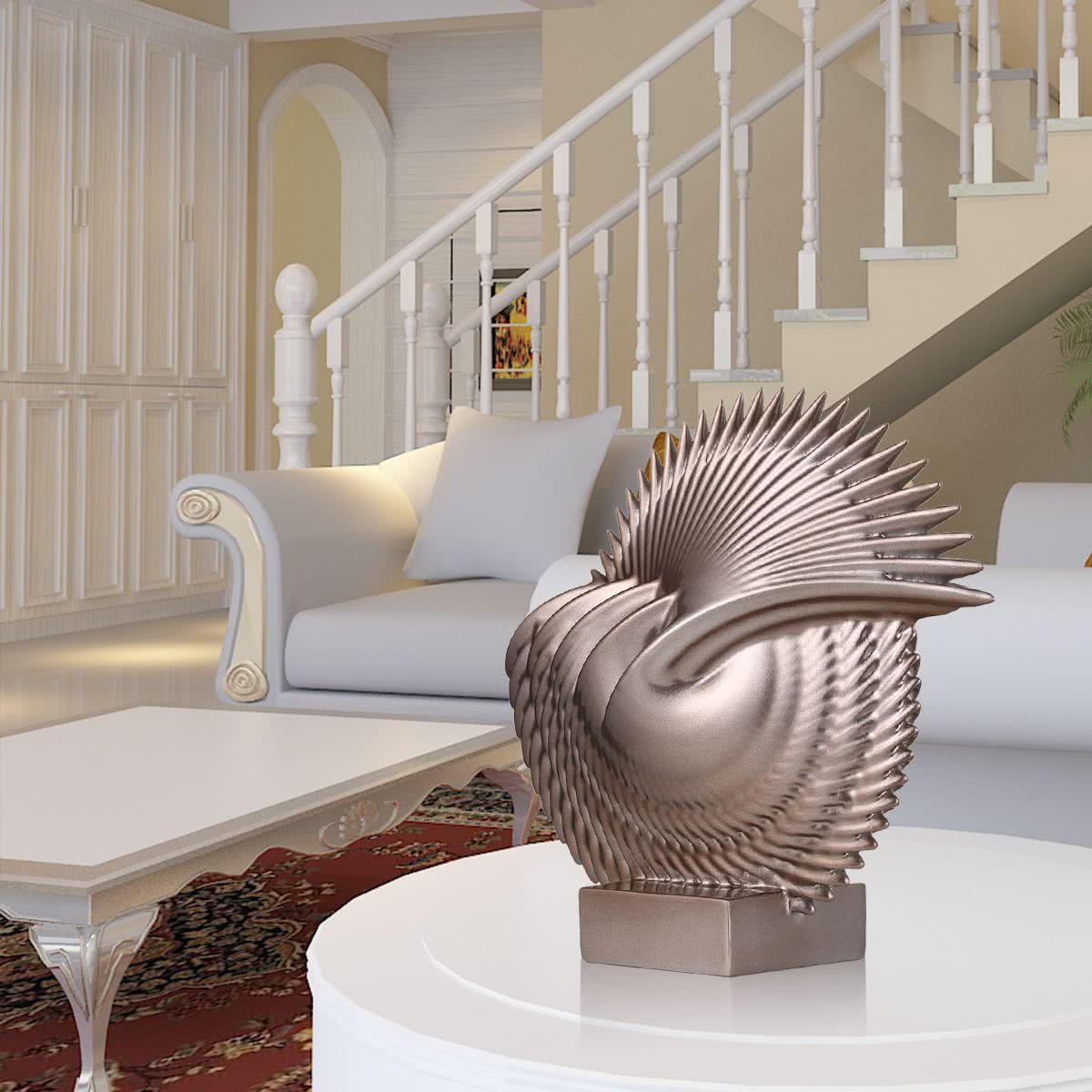 Hojas escultura de fibra de vidrio tomfeel la decoraci n for Decoracion hogar original