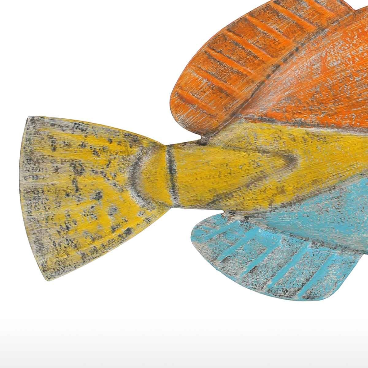 Fish Wall Hanging 6 Iron Wall Decor Creative Ornament Craft Wall ...