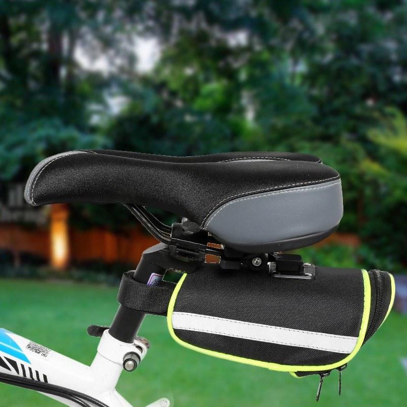 Bicycle Tail Bag Road Bike Seat Cushion Kit Bicycle Rear Seat Tube Bag