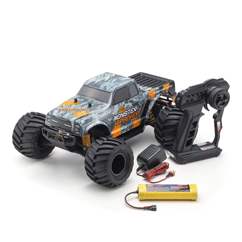 Kyosho Monster Tracker Ready to Run RC Truck Orange Grey