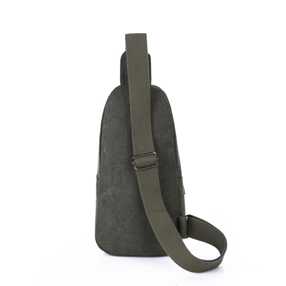 a70825d6383a Новый Мужчины Холст Crossbody плече сумка слинг Грудь сумка Военный  Свободный Путешествия Сумка Сумочка