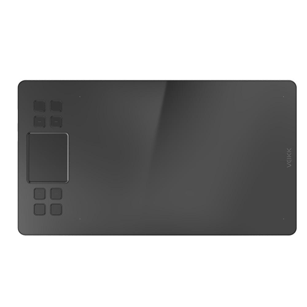 VEIKK A50 0.9cm Ultra-Thin Digital Tablet Drawing Panel 250 Points//s Read Speed