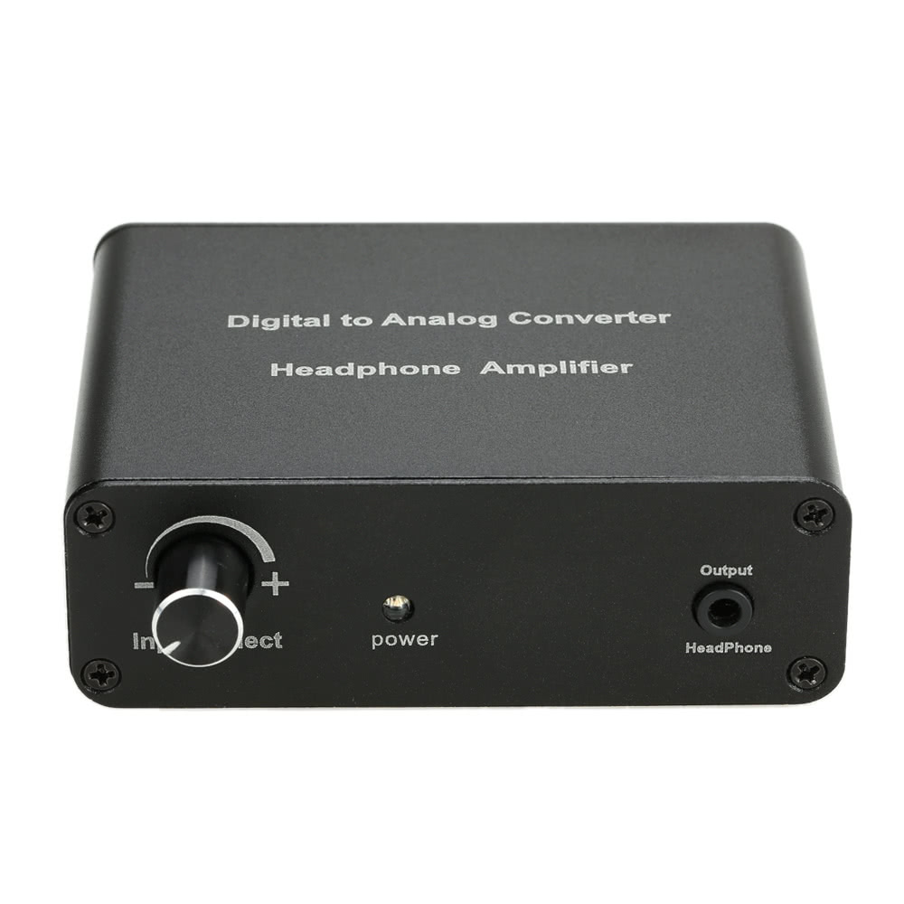 Toslink SPDIF Coaxial Digital Optical to Analog L/R RCA Audio Output Amplifier Extractor Converter Adapter Sales Online - Tomtop