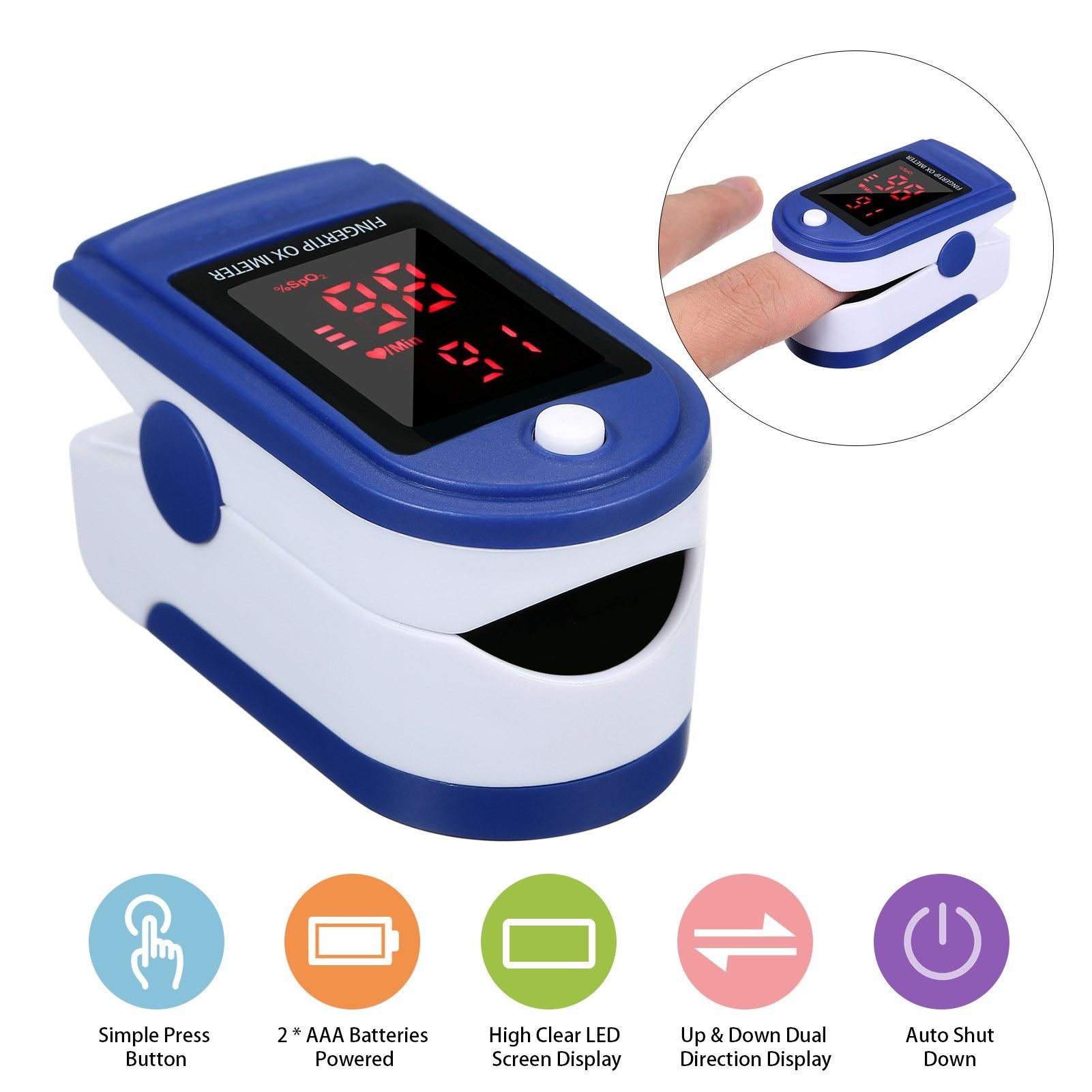 Μοναδική προσφορά! Ασύρματο ψηφιακό θερμόμετρο και οξύμετρο και 50 χειρουργικές μάσκες με μόνο 16.99€ από το Flash Sales του Cafago!