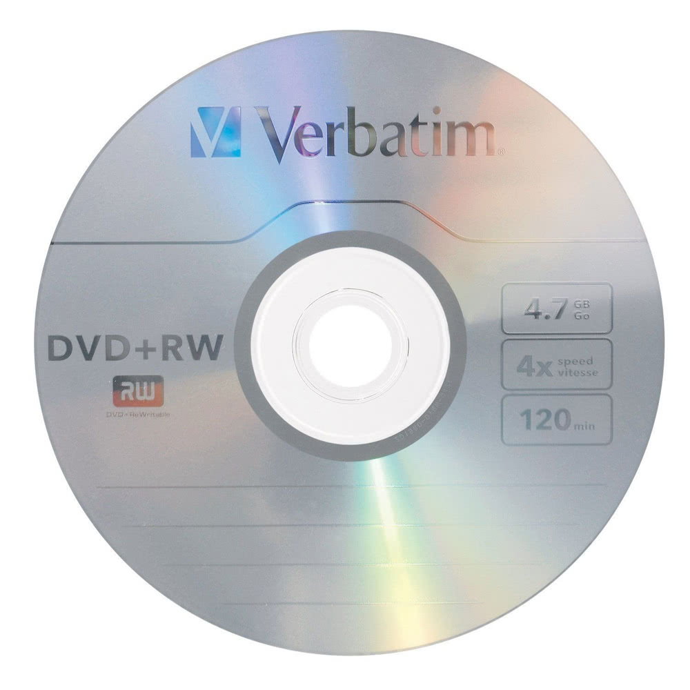 verbatim dvd rw 4 7gb 120min 10pk spindle 4x branded rewritable media disc compact data storage. Black Bedroom Furniture Sets. Home Design Ideas
