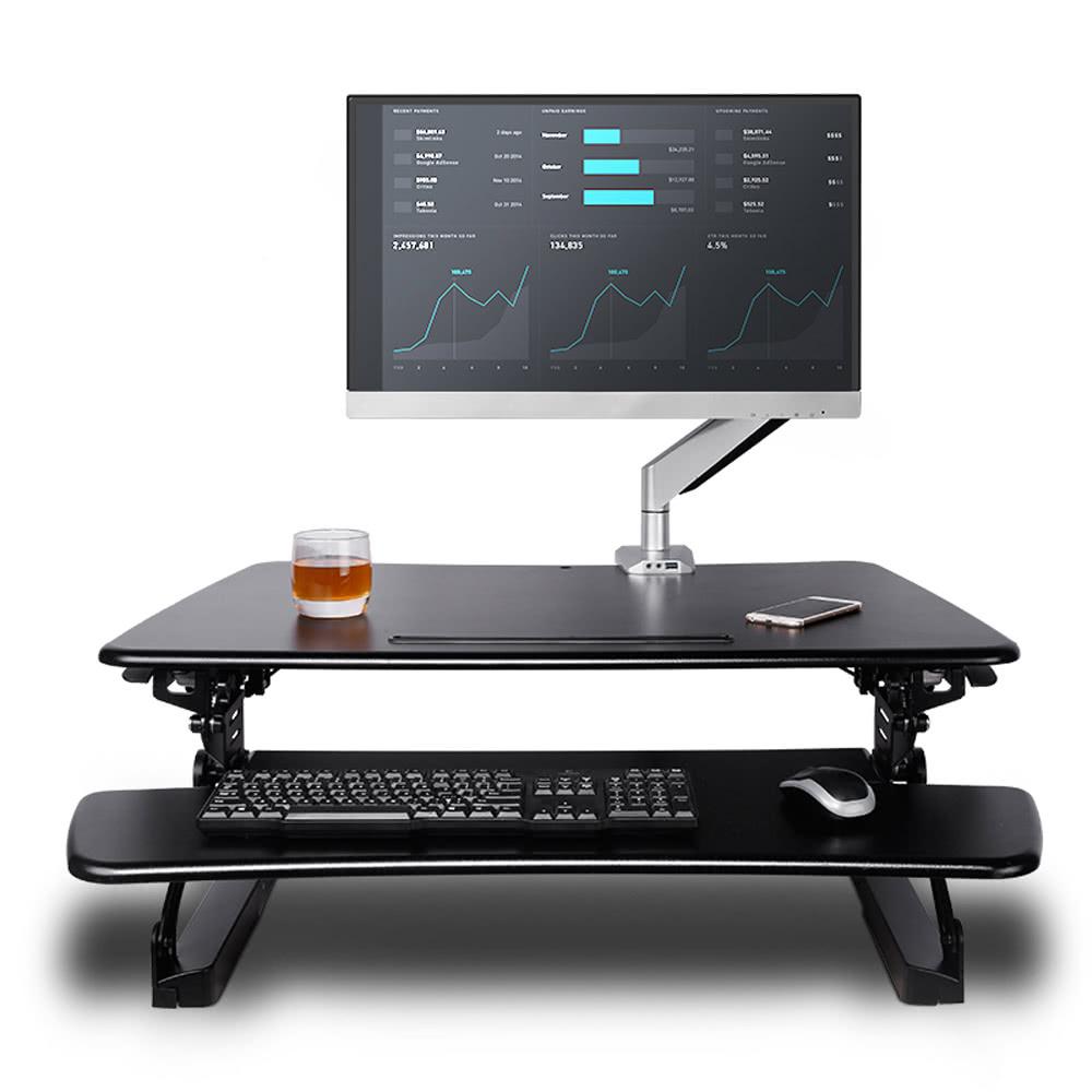 Height Adjustable Standing Desk Reviews Desk Ikea Stand