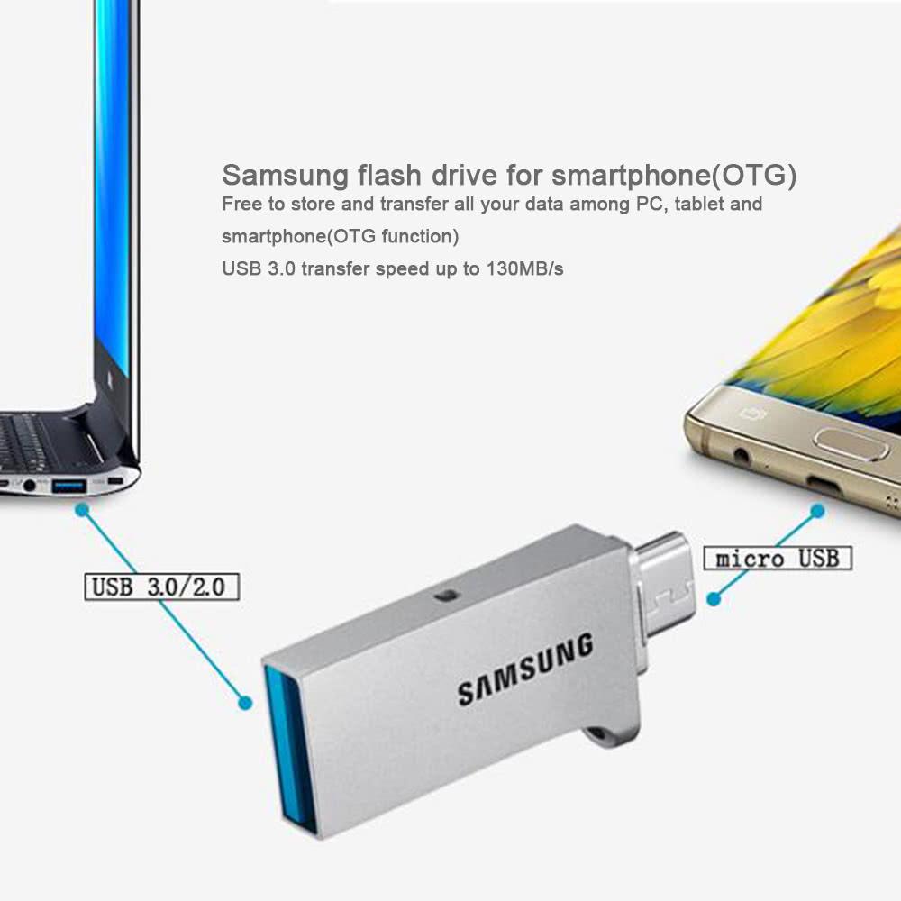 Samsung Duo 32g Usb 30 Micro Otg Flash Drive Pen Thumb Flashdisk Atau Flashdrive Type C Original Memory Stick External Storage Muf 32cb Cn For Android Smartphone Tablet Pc Laptop Sales