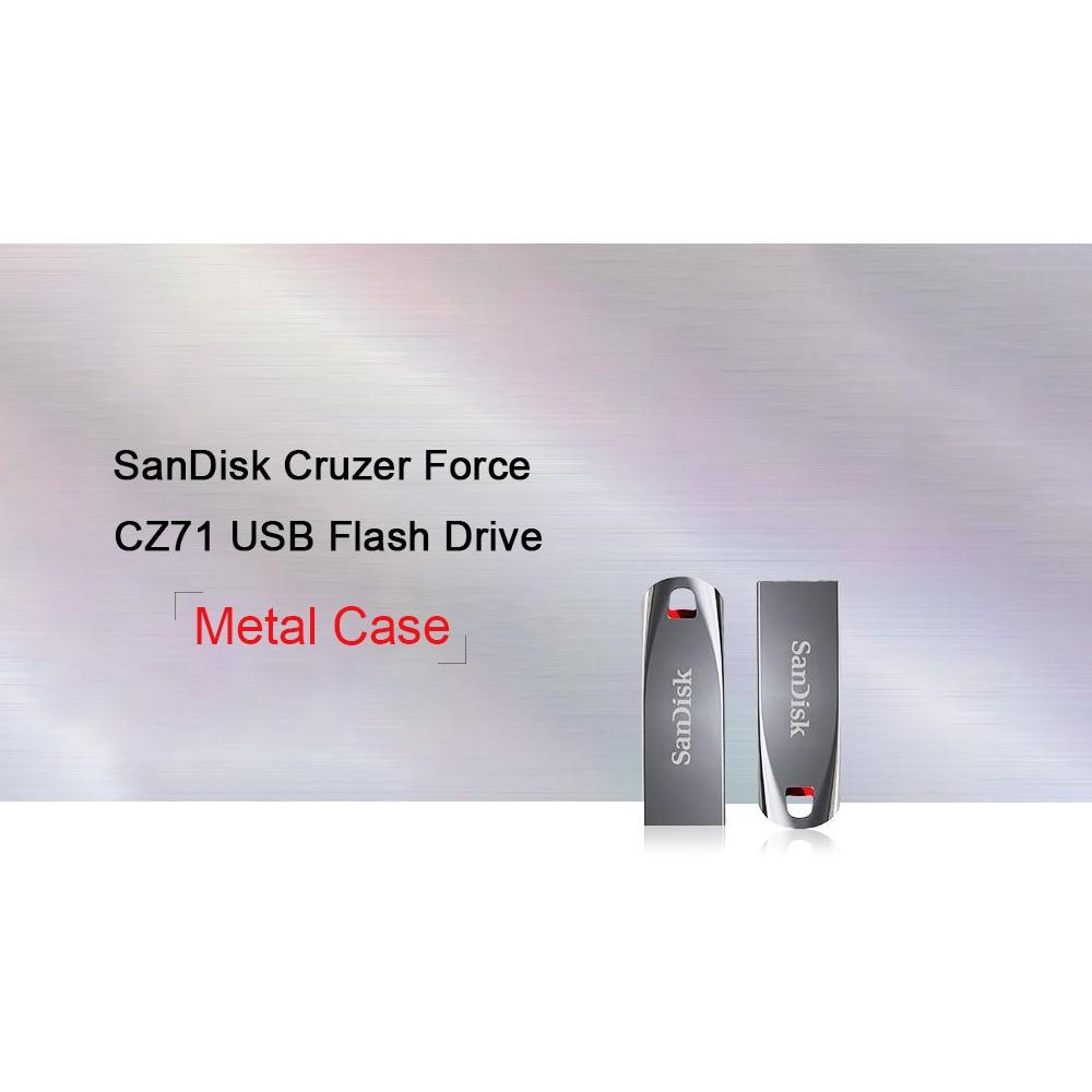 Sandisk Cruzer Force Cz71 Usb Flash Drive 20 Pen Drives Flashdisk 8 Gb Cruizer 1