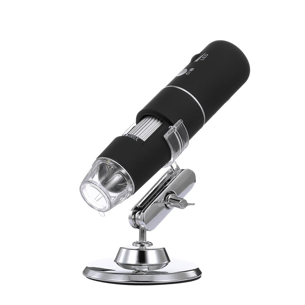 Wireless Digital Microscope HD 1080P WIFI Microscope Magnification Mini  Pocket Handheld Microscope Camera with 8 LED Light for