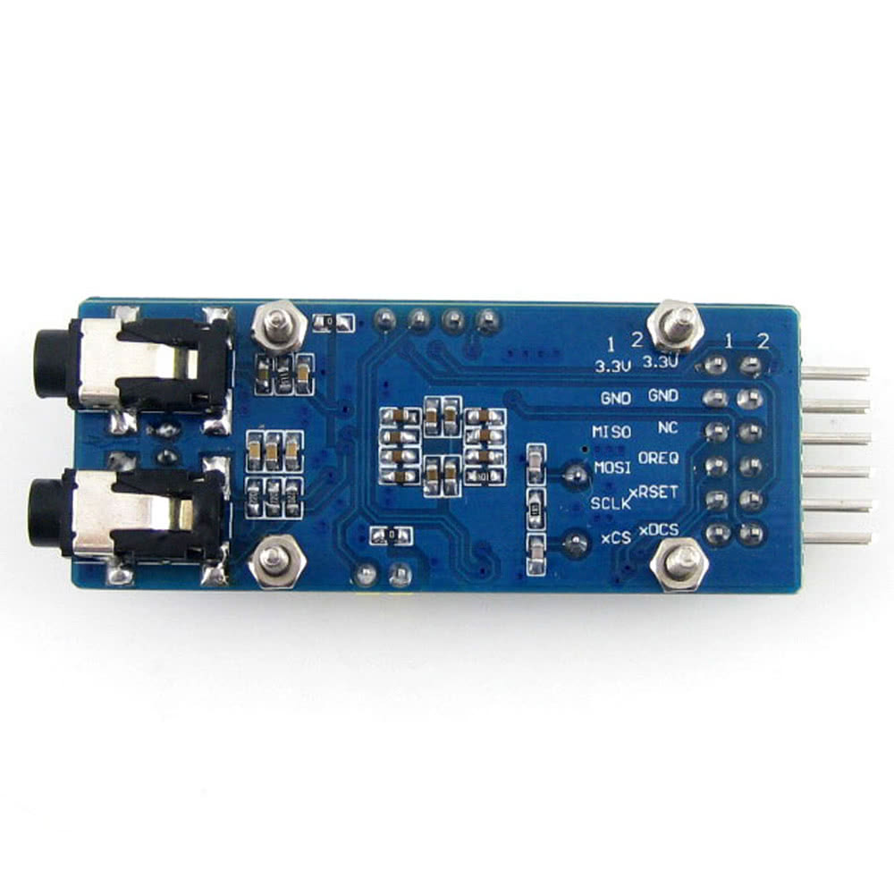 VS1003B MP3 Board Audio Input / Output Module for Arduino DIY Sales Online  blue - Tomtop