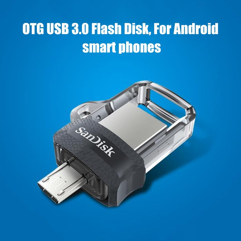 Best Sandisk Otg Usb Flash Drive 128gb 64gb 32gb 16gb Flashdisk 30 Disk