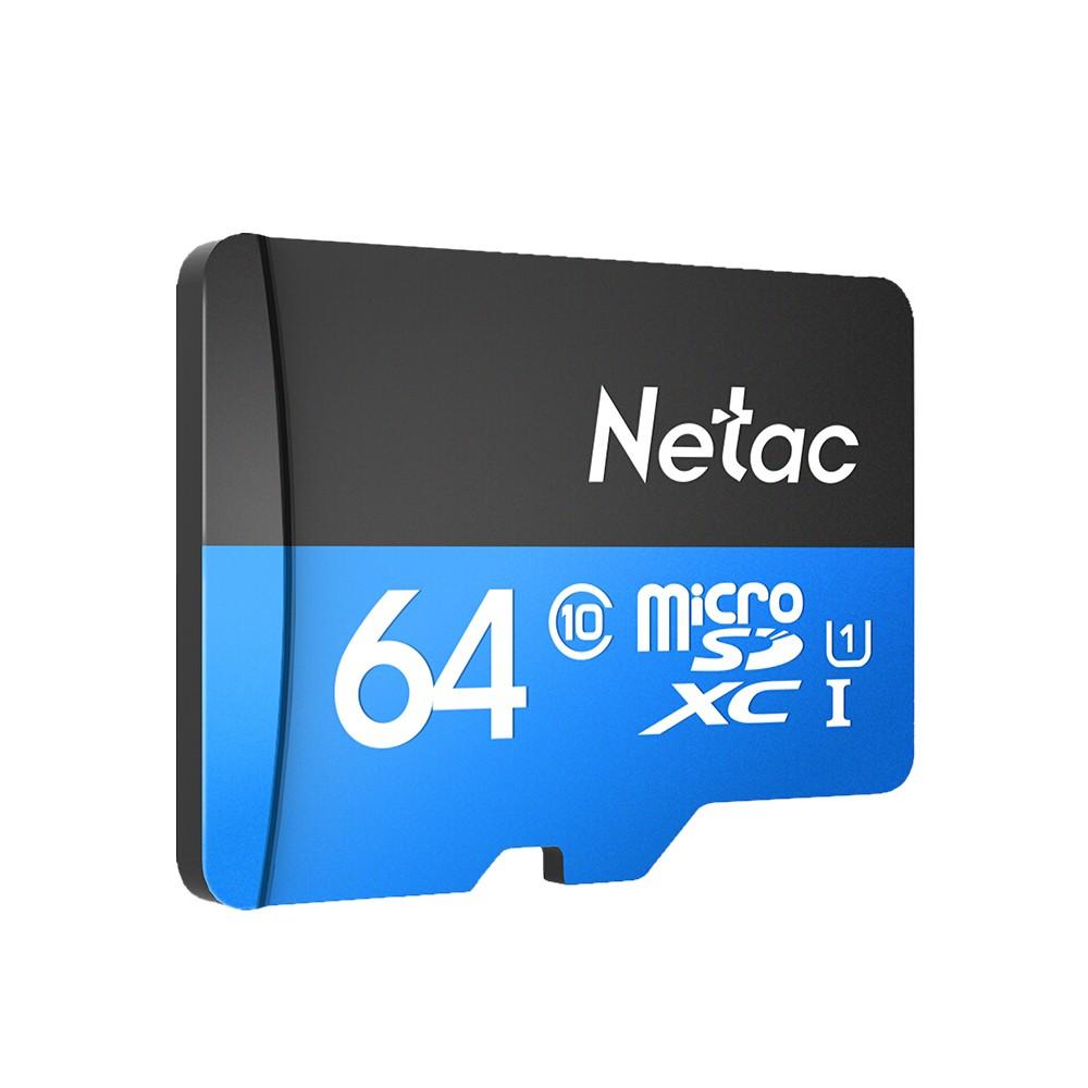 Netac 64 GB-os micro SD memóriakártya