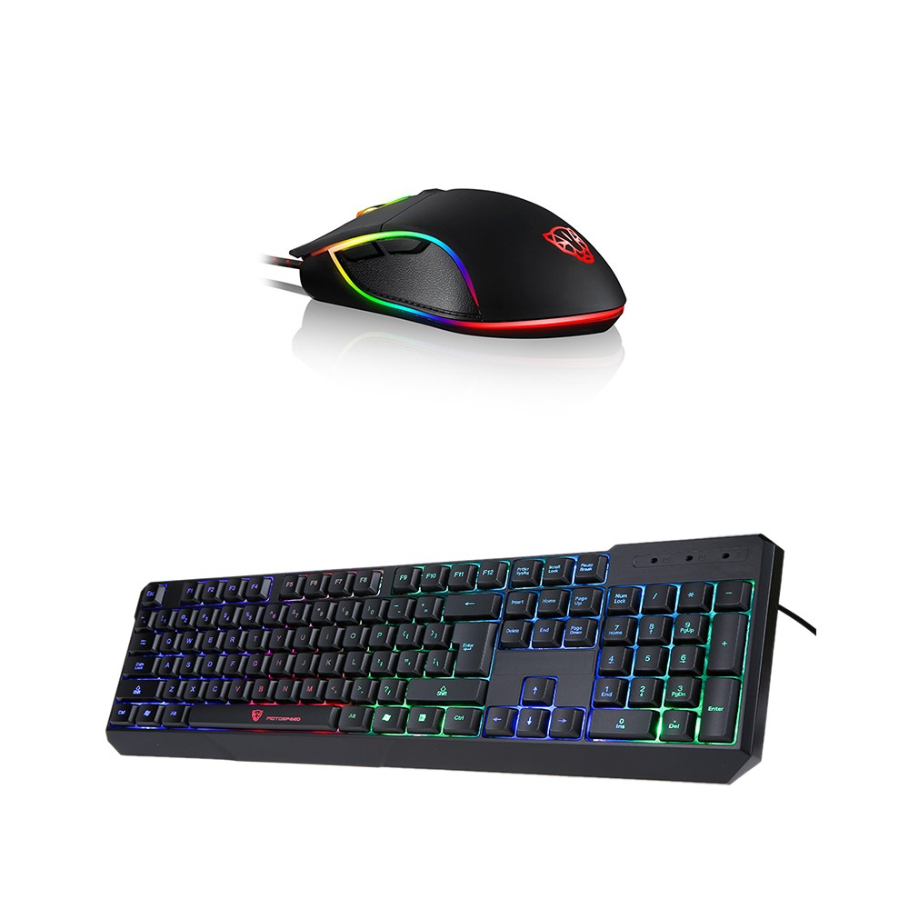 34bf29efd4f Motospeed V30 Wired Optical USB Gaming Mouse + K70 104 Gaming LED Colorful  Backlit Esport Gaming Keyboard Sales Online j1460-2 - Tomtop
