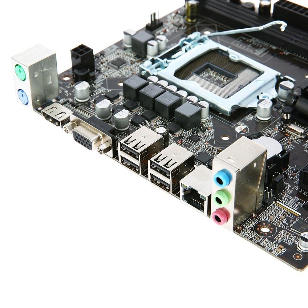 H61 V W11 Motherboard Matx Hd Interface Lga1155 I3 I5 Electric Circuit Board Processor Tshirts I7sandy Bridgea And Ivy Bridge 2 Dimm Slots Ddr3 Memory Up To 16gb