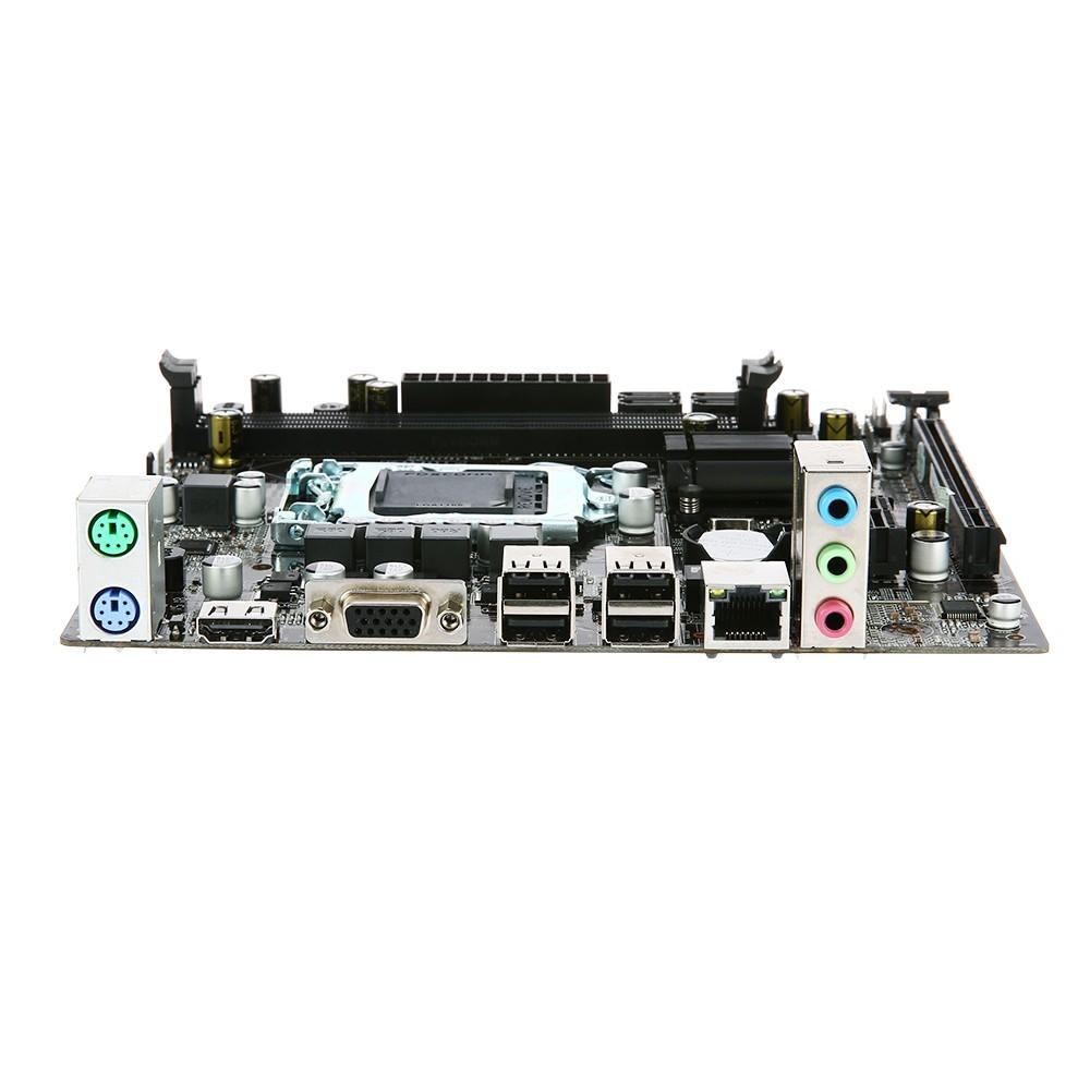 H61 V W11 Motherboard Matx Hd Interface Lga1155 I3 I5 Suport I7 Lga 1155 I7sandy Bridgea And Ivy Bridge Processor 2 Dimm Slots Ddr3 Memory Up To 16gb