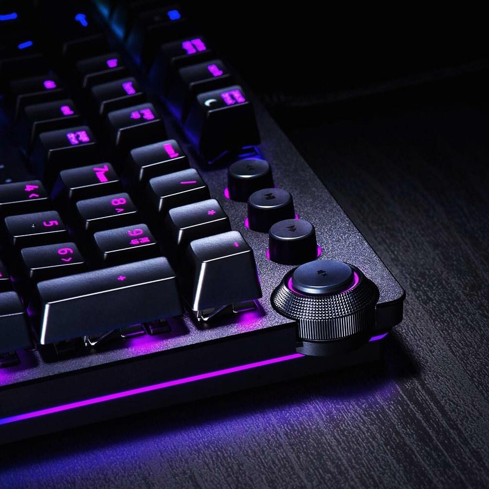 3b004f46054 Razer Huntsman Elite Wired Gaming Keyboard Mechanical Game Keyboard RGB  Backlight Tactile Switches Ergonomic Design for PC Laptop