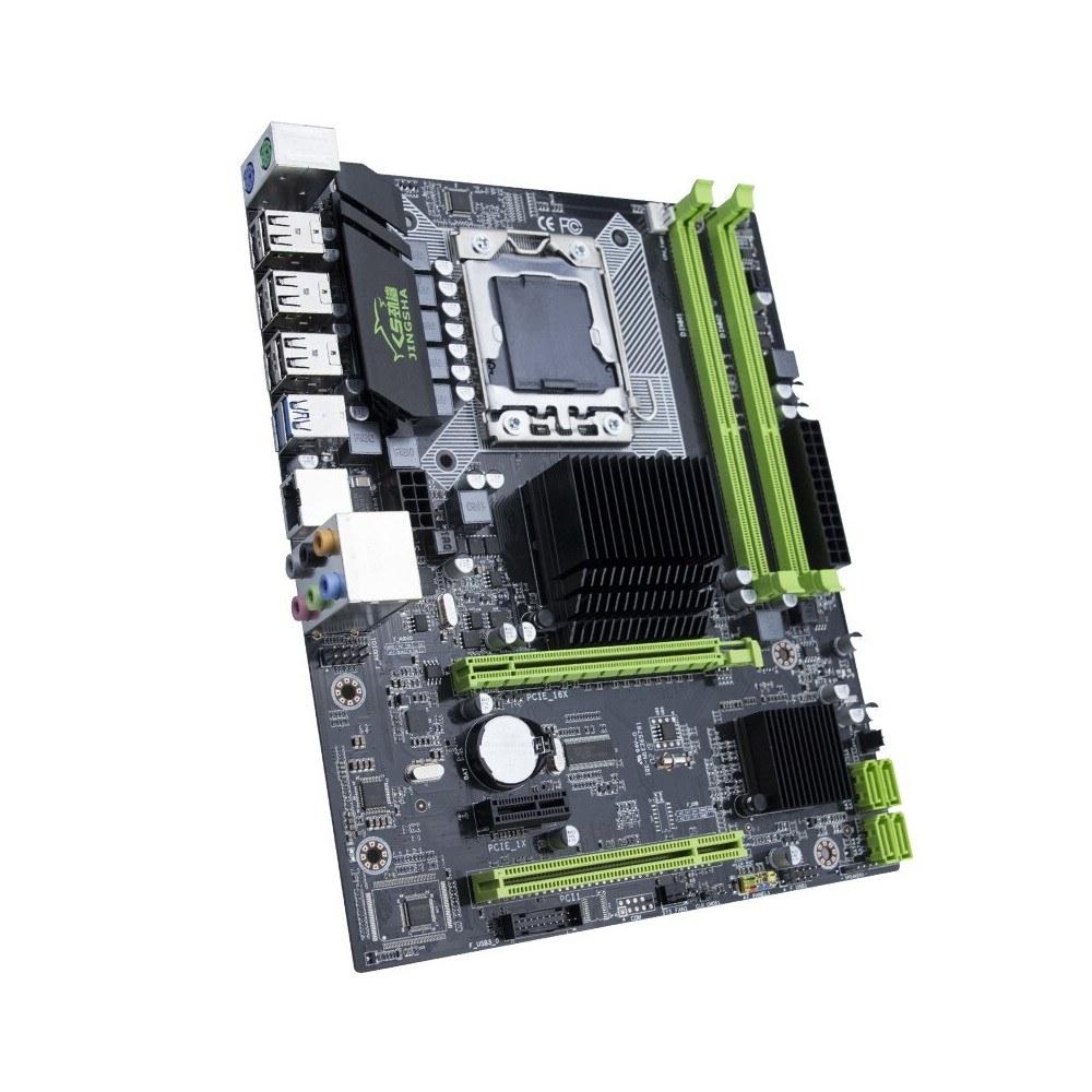 Jingsha X58 Motherboard i7 5675 DDR3 1366PIN Mainboard Support RECC Sales  Online grey - Tomtop