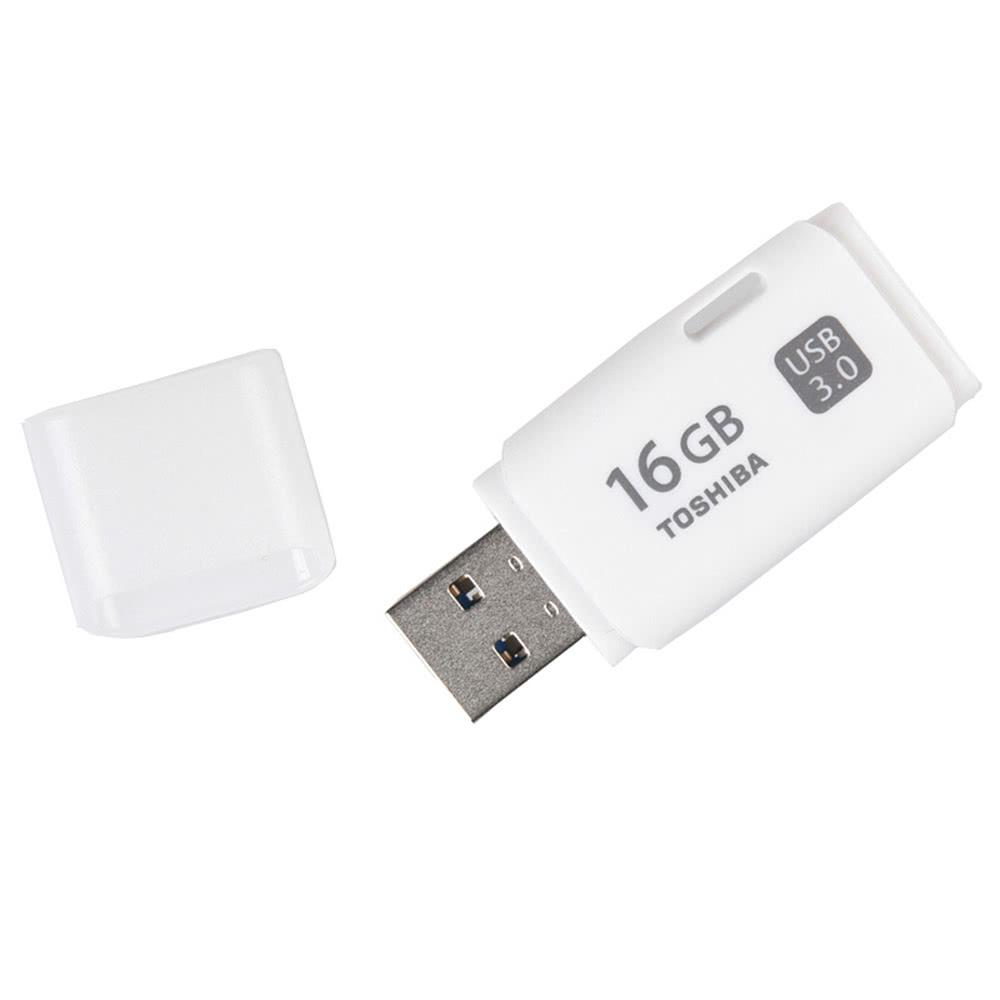 Toshiba 16gb Usb 30 Transmemory Hayabusa U301 Flash Pen Drive Disk 32 Gb Original Memory Thumb Stick External Storage White