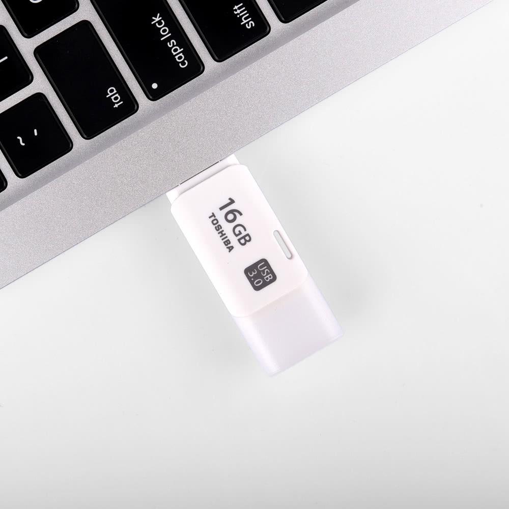 Toshiba 16gb Usb 30 Transmemory Hayabusa U301 Flash Pen Drive Hayabusha 32gb Flashdisk G3 Memory Thumb Stick External Storage White
