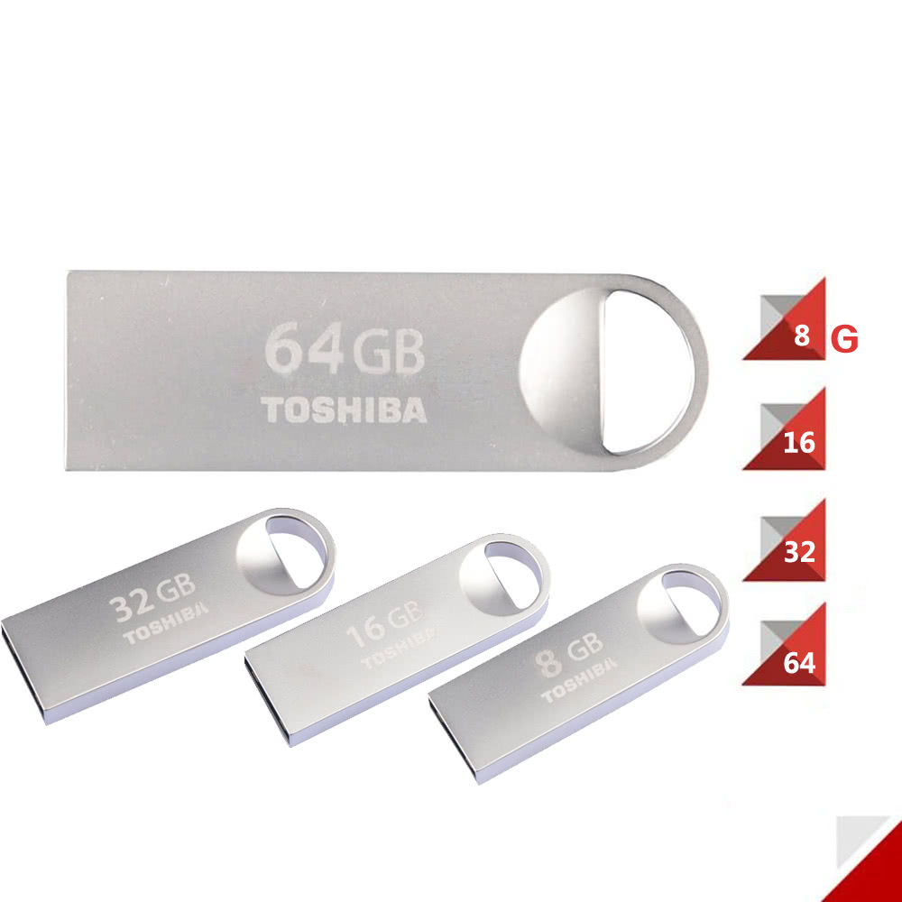 Toshiba 8gb Usb 20 Transmemory U401 Metal Flash Pen Drive Memory Flashdisk 64 Gb Disk 64gb Thumb Stick External Storage White