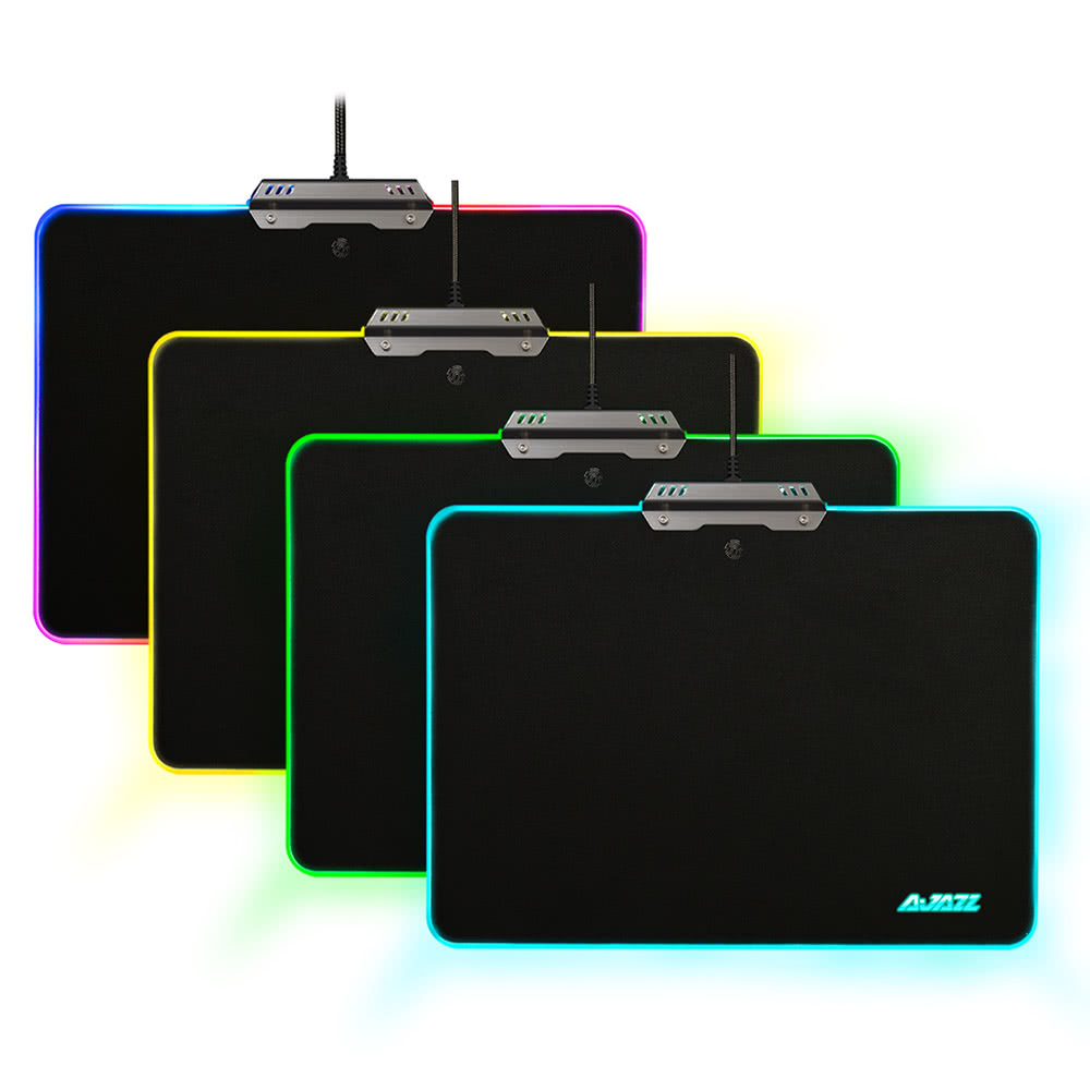 Ajazz Rgb 9 Lighting Modes Touch Control Hard Gaming Mousepad Sales Green Circuit Board Gel Mouse Pad Online Tomtop