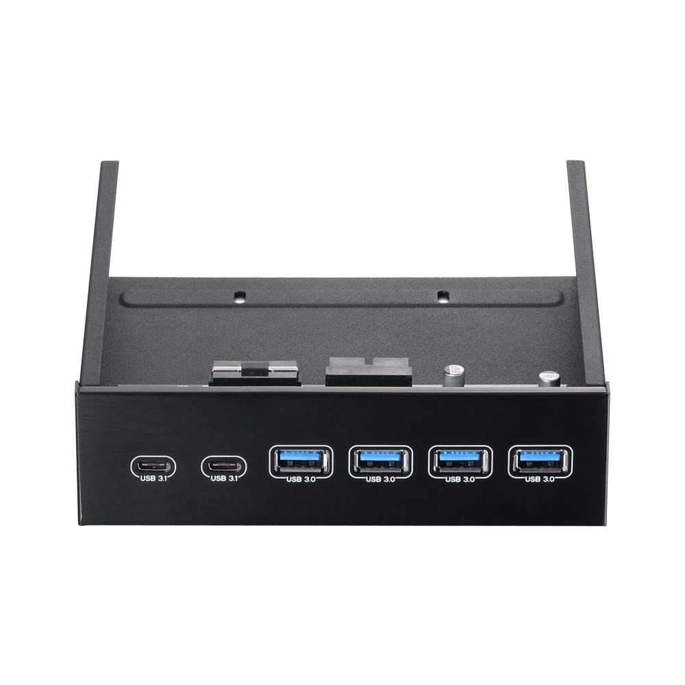 Best 525 Front Bay Usb Hub 2 Port 31 4 30 High Panel Speed 5gbps Computer Case Optical Drive Converter