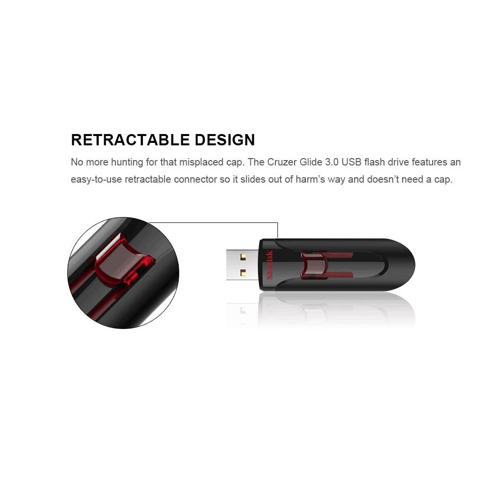 Sandisk Cruzer Glide Cz600 Usb Flash Drive 30 Pendrives Pen Flashdisk 32gb Sales Online 256gb Tomtop